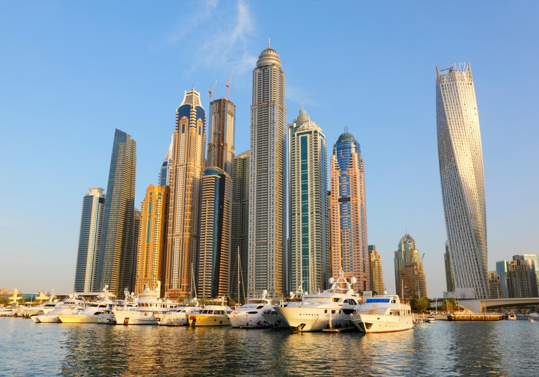 Dubai Marina waterfront