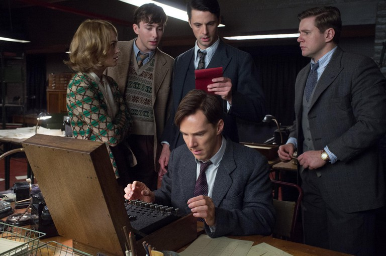 Benedict Cumberbatch as computer scientist Alan Turing in The Imitation Game 2014