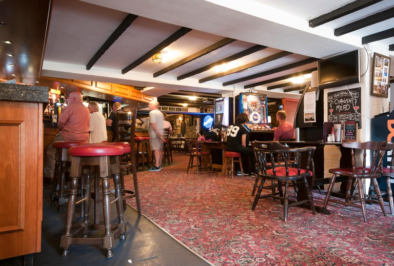 Interior Of A Pub