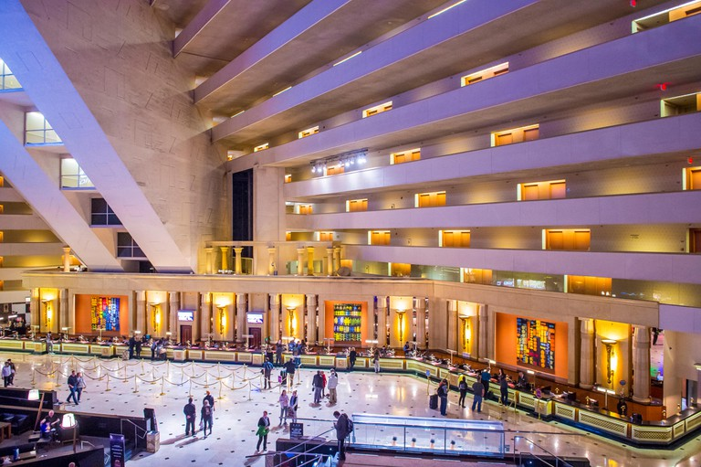 The Luxor hotel and casino in Las Vegas