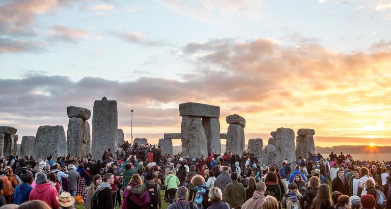 Sunrise at The Summer Solstice Stonehenge