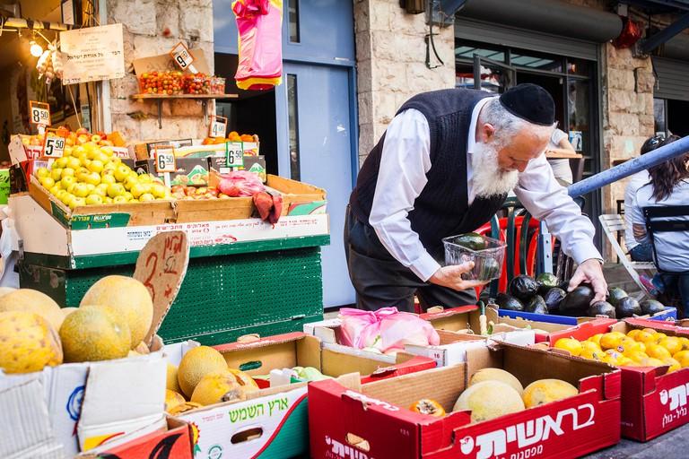 Mahane Yehuda Market, Jerusalem, Israel.