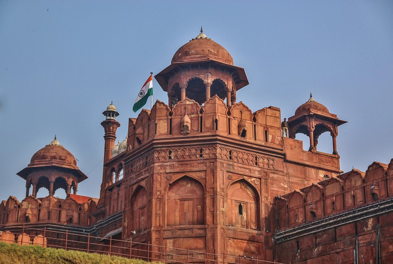 Red Fort in Delhi City, India