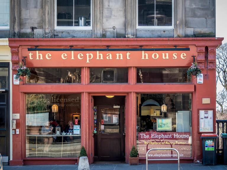 The Elephant House cafe Edinburgh.