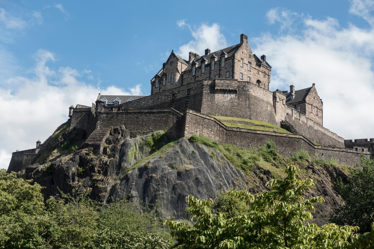 Edinburgh Castle is home to the oldest crown jewels in Britain