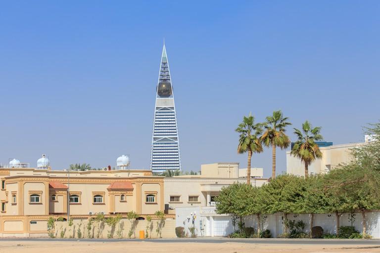 Cityscape of Riyadh in Saudi Arabia