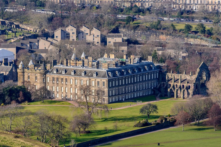 Holyrood Palace. Edinburgh