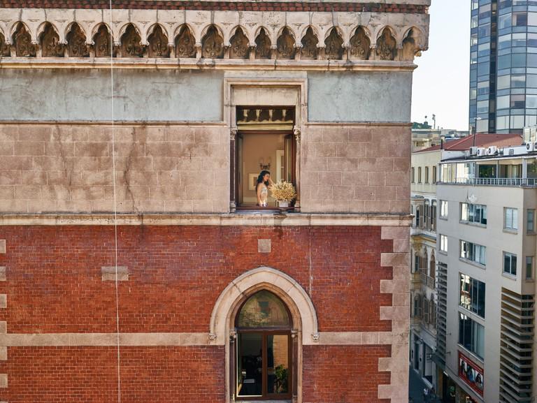 Out My Window,Berfin, İstiklal Cad, Beyoğlu, Istanbul, Turkey, 2 September 2015