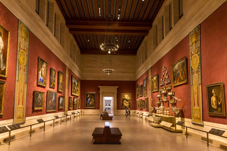 The Koch Gallery at the MFA displays old master paintings
