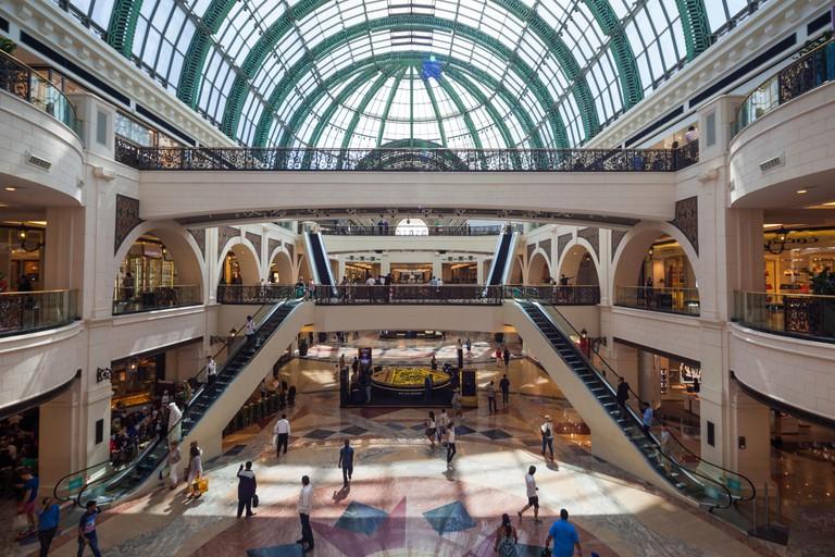 UAE, Dubai, Al Barsha, Mall of the Emirates, interior