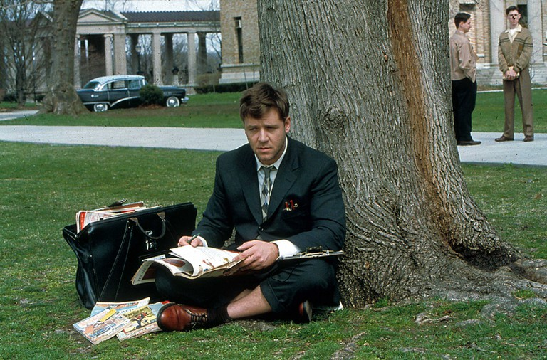 Russell Crowe in A Beautiful Mind, 2001