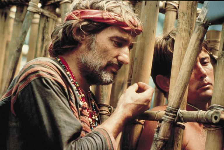 Dennis Hopper and Martin Sheen in Apocalypse Now1979