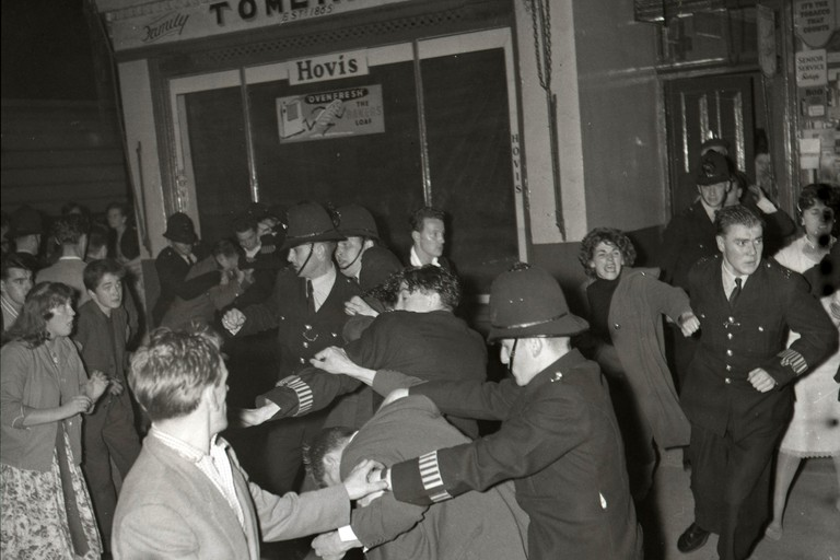 The Notting Hill race riots took place in 1958