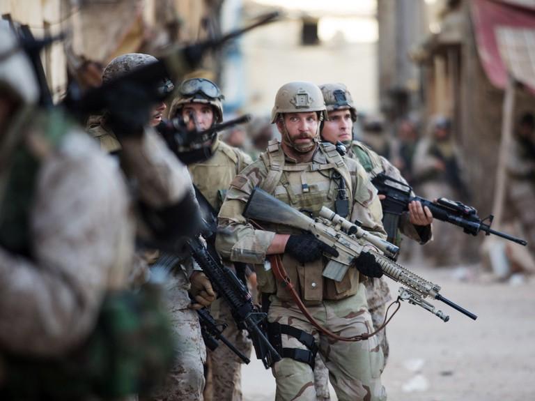 Bradley Cooper in 'American Sniper', 2014