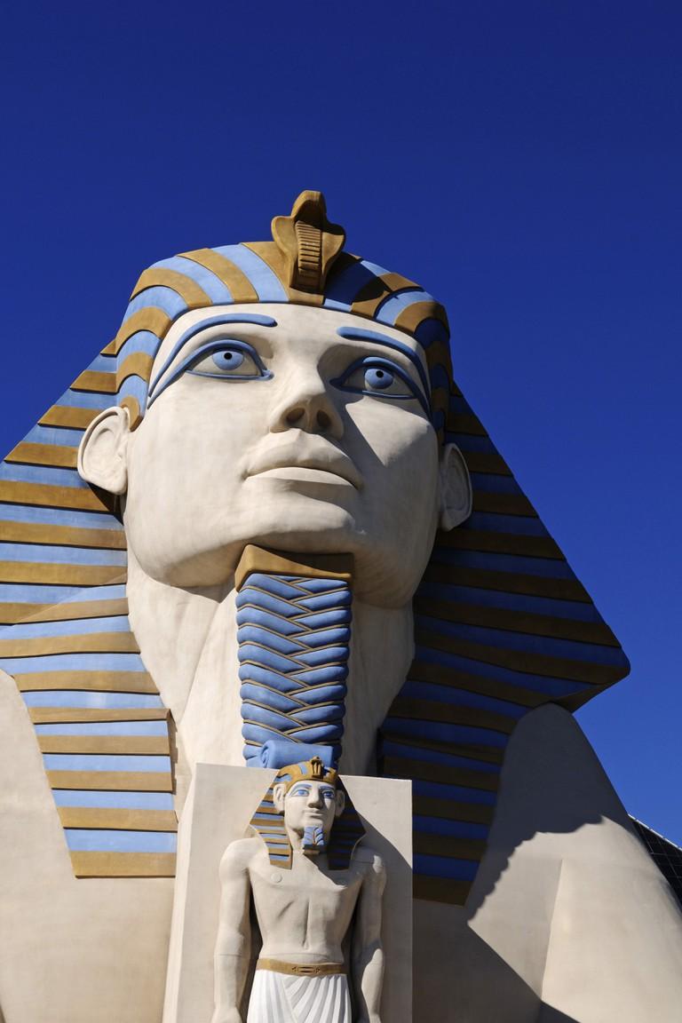 The Sphinx at the Luxor Hotel, Las Vegas, Nevada