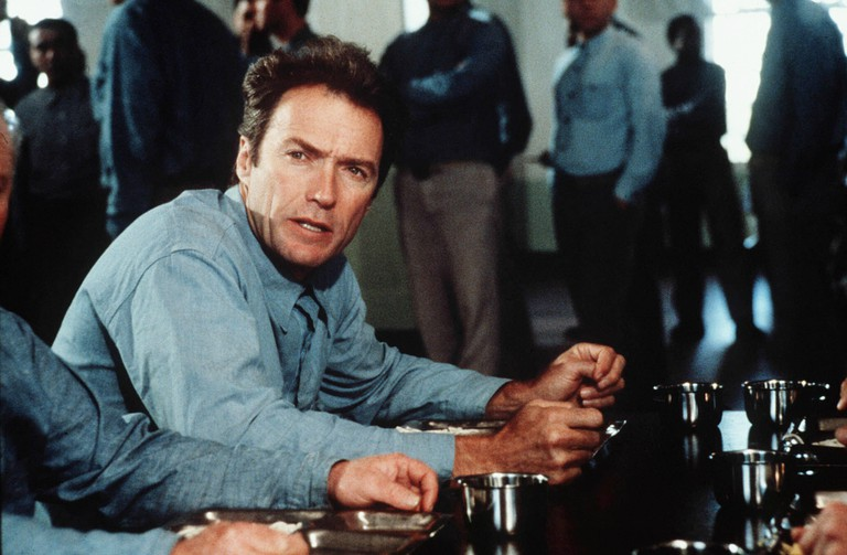 Clint Eastwood in Escape From Alcatraz 1979