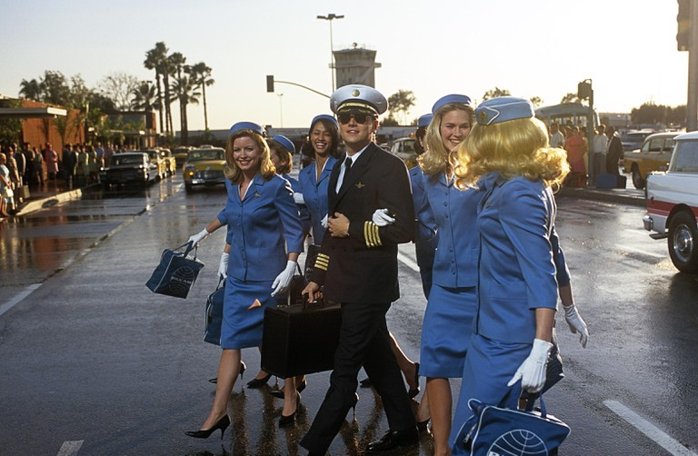Leonardo Dicaprio in Catch Me If You Can, 2002