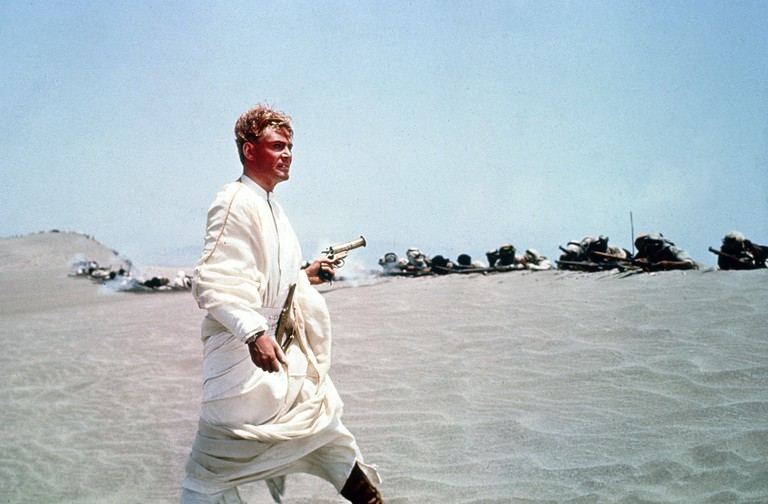 Peter O'Toole in Lawrence Of Arabia 1962