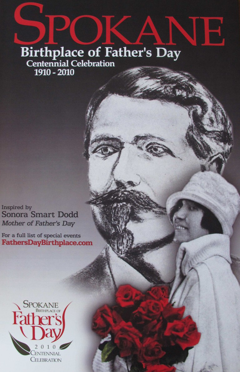 Father's Day was founded by Sonora Smart Dodd in 1910