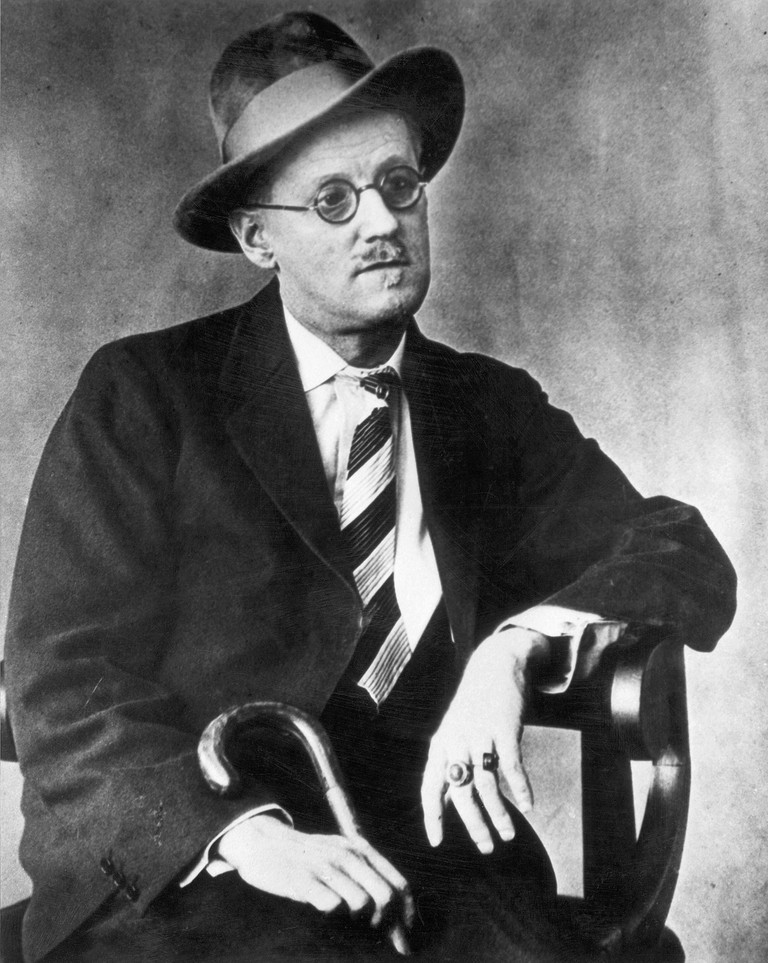 James Joyce (1882-1941). Irish Writer.
