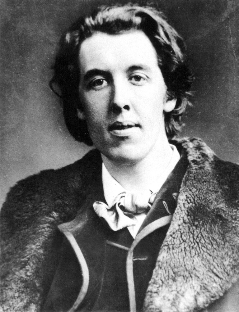 Oscar Wilde (1854-1900). Irish Writer And Wit.