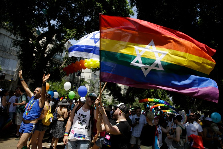 Tel Aviv's LGBTQ community comes together during Pride
