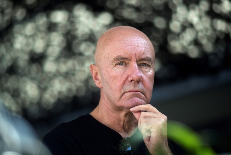 Irvine Welsh presents 'A Decent Ride' in Barcelona, Spain - 14 Sep 2018