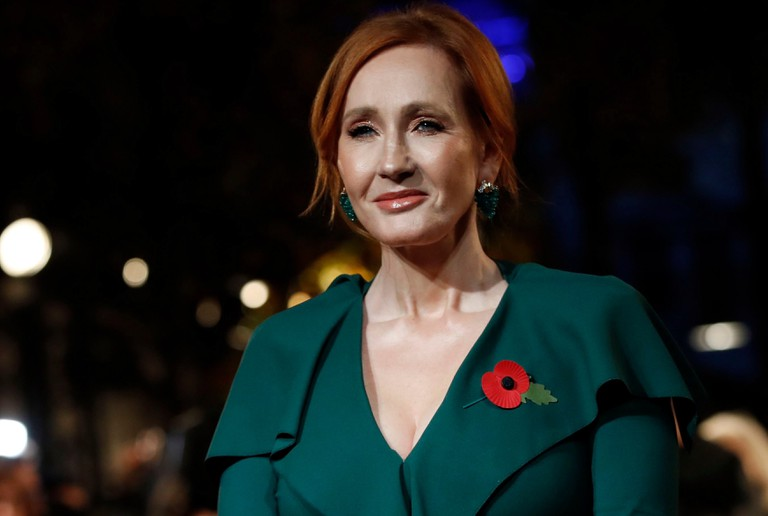 "Writer J.K. Rowling photographed at the world premiere of the film ""Fantastic Beasts: The Crimes of Grindelwald"" in Paris, France - 08 Nov 2018"