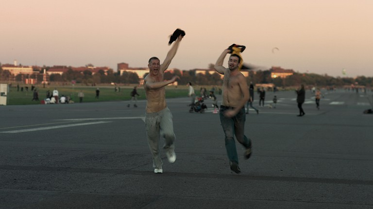 Picture for the film Where are you going, Habibi? On the famous Flughafen Tempelhof https://vimeo.com/ondemand/whereareyougoinghabibi