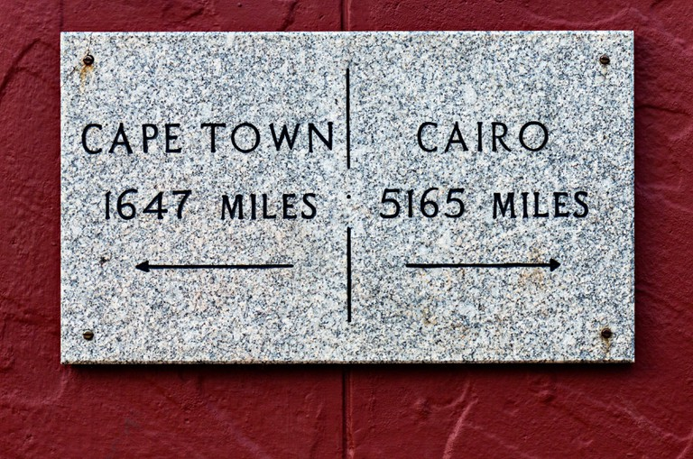 Miles To Capetown Or Cairo