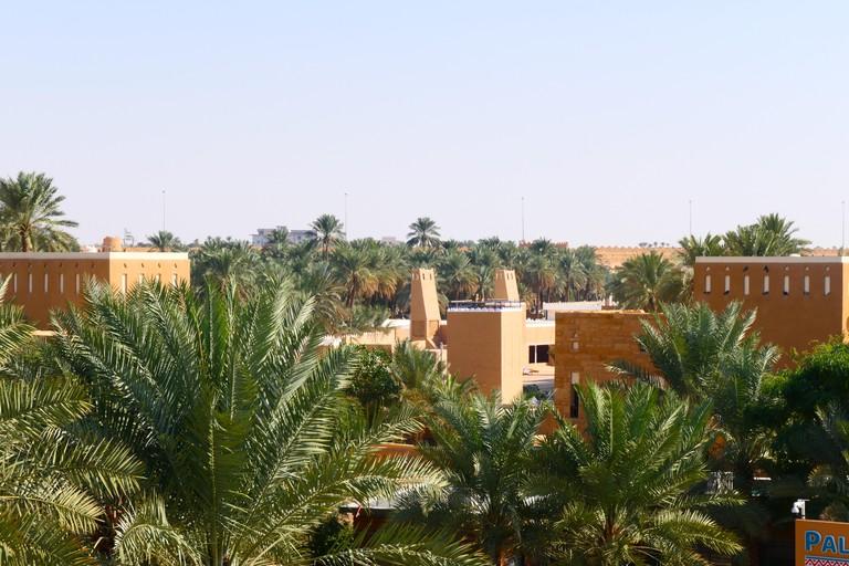 The old city of Diriyah, UNESCO World Heritage near Riyadh
