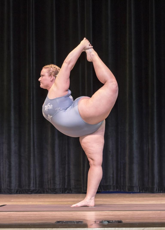 Lauren Kaye at the USA Yoga Championship