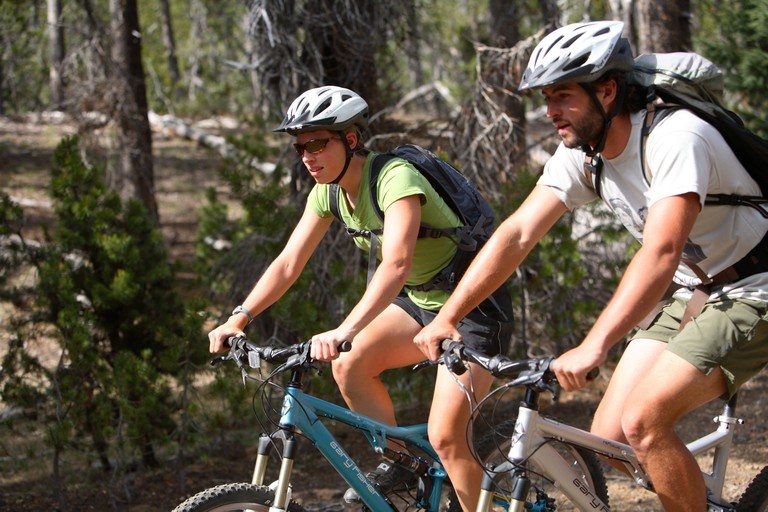 Leysin is internationally renowned for mountain biking