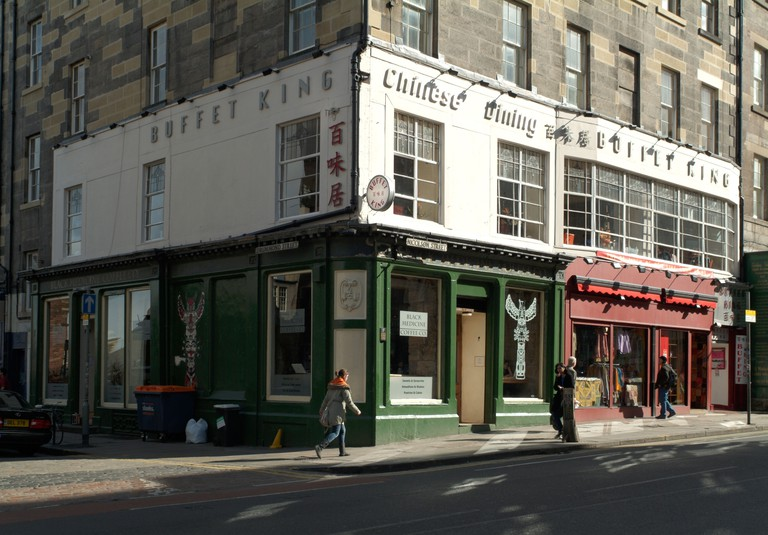 The former Nicolson's Cafe, Nicolson Street, Edinburgh.