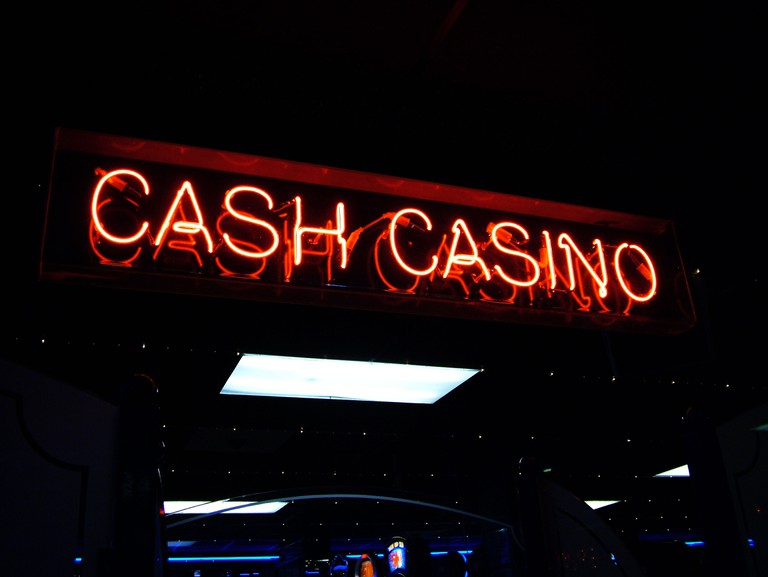 Casino sign in Vegas