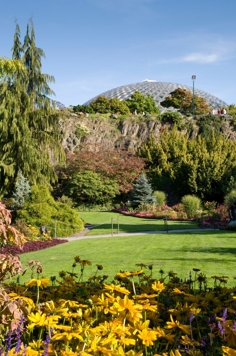 Bloedel Conservatory in Queen Elizabeth Park, Vancouver.