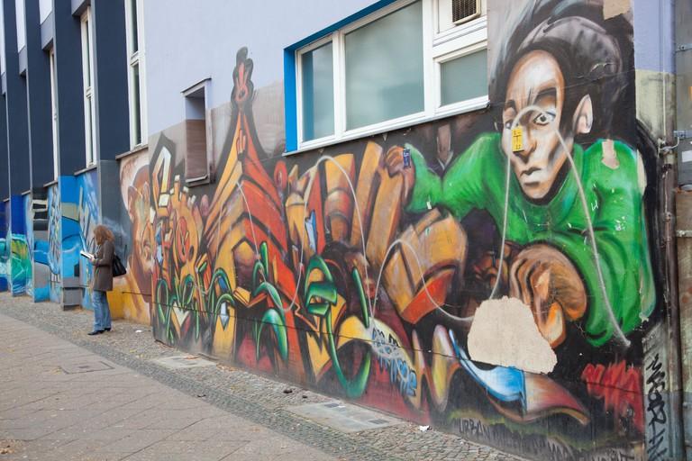 Street graffiti in Kreuzberg