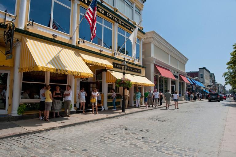 Thames Street, Newport Rhode Island