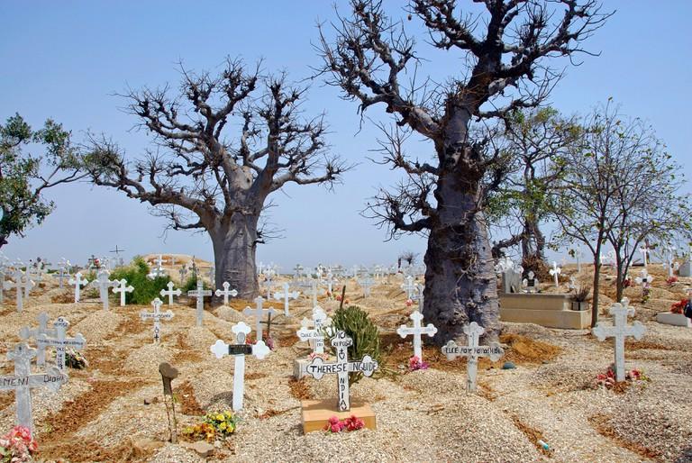 Cemetery in Joal-Fadiouth, Senegal, Africa