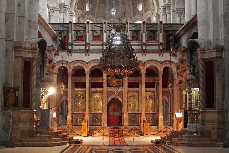 Israel,Jerusalem,Church of the Holy Sepulchre