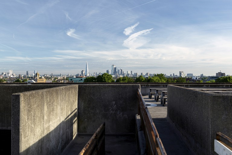 Bold Tendencies Rooftop View
