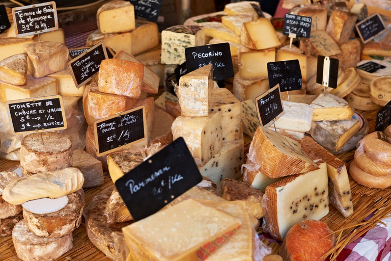 Stock up on cheese in Geneva