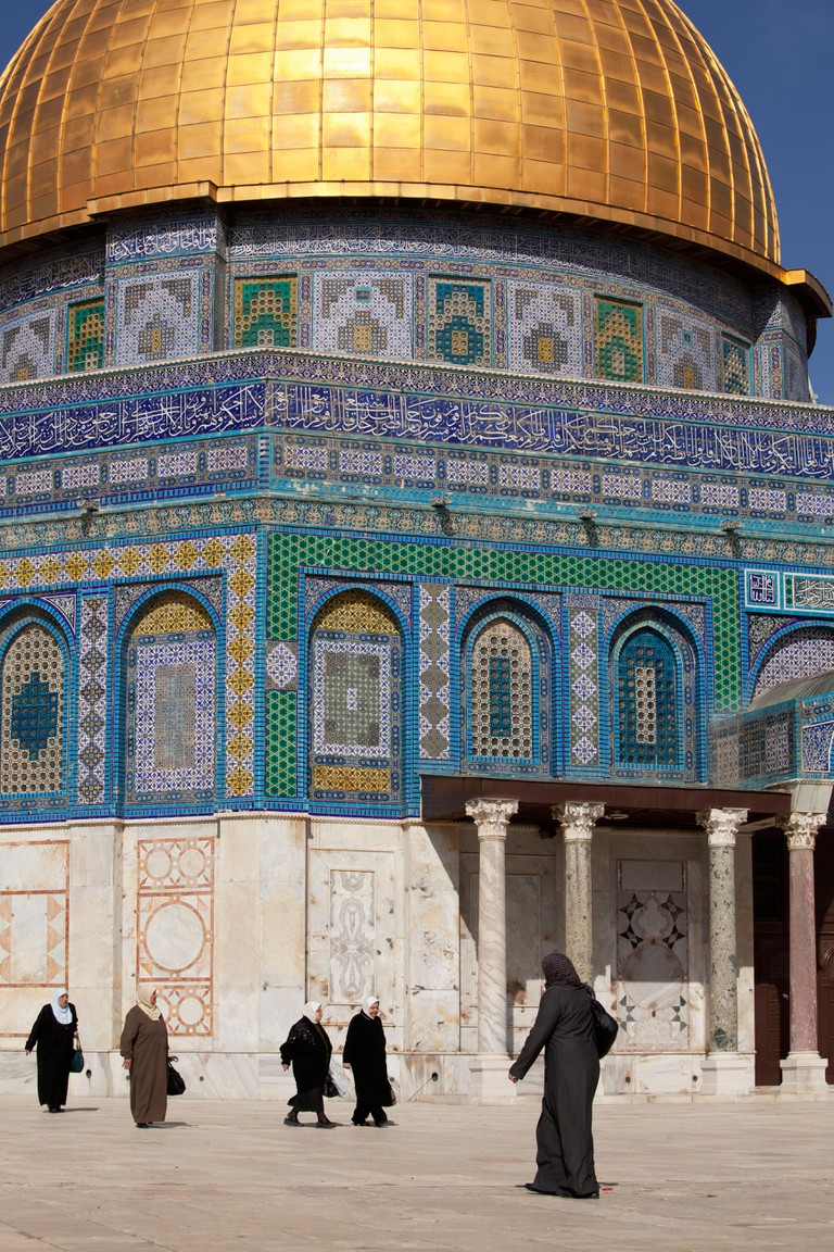 Israel, Jerusalem,Dome of the Rock on Temple Mount