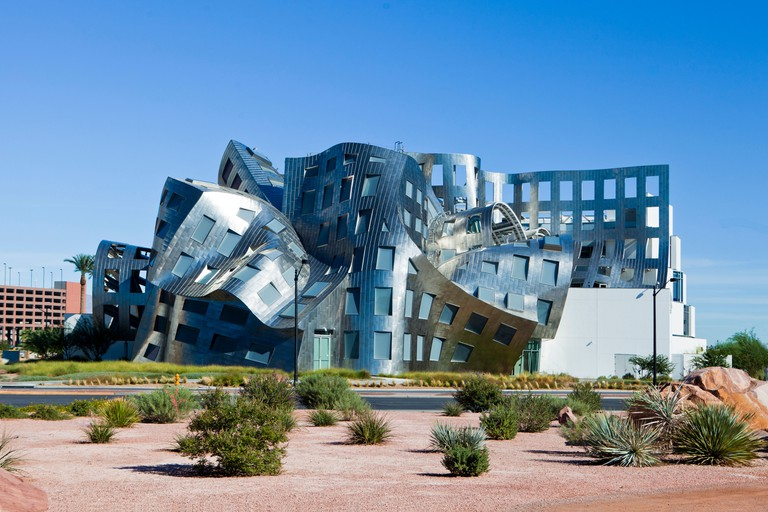 USA, United States, America, Nevada, Las Vegas, City, Cleveland Clinic, Lou Ruvo, Brain Health Center, architecture, brain, brig