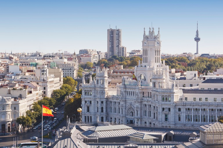 Cibeles Palace, Madrid