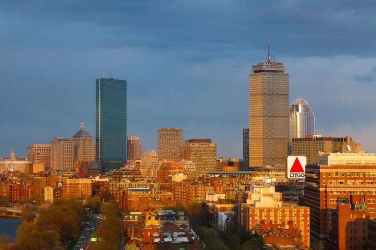 Late Sunlight on Boston's Back Bay