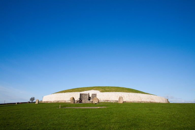 Newgrange, Co Meath, Ireland.
