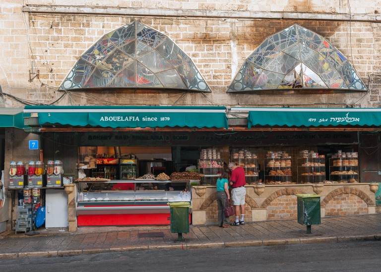 The famous Abulafia bakery in Jaffa