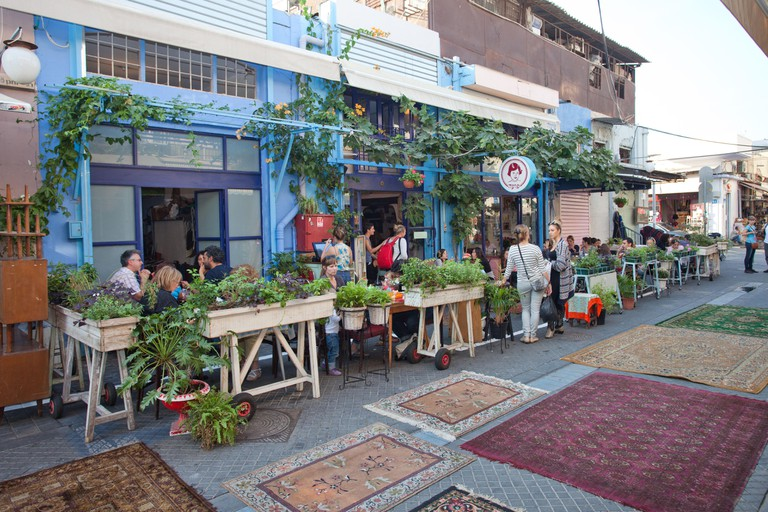 tel aviv restaurant jaffa flea market