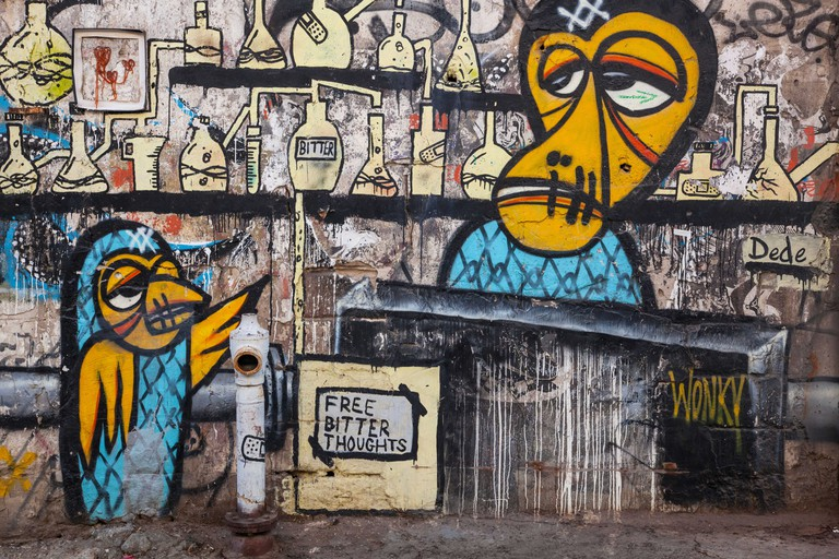 Urban art in Florentin, Tel Aviv, Israel